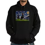 Starry Night Doberman Hoodie (dark)