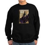 Mom's Doberman (#1) Sweatshirt (dark)