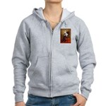 Lincoln's English Bulldog Women's Zip Hoodie