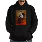 Lincoln's English Bulldog Hoodie (dark)