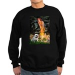 Fairies / English Bulldog Sweatshirt (dark)
