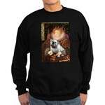 The Queen's English BUlldog Sweatshirt (dark)