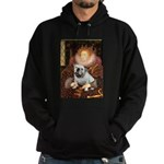 The Queen's English BUlldog Hoodie (dark)