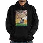 Spring/ English Bulldog (#9) Hoodie (dark)