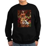 The Path / Two English Bulldogs Sweatshirt (dark)