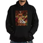 The Path / Two English Bulldogs Hoodie (dark)