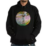 Garden / English Setter Hoodie (dark)