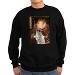 Queen / English Setter Sweatshirt (dark)