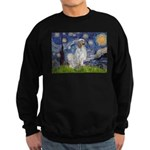 English Setter / Starry Night Sweatshirt (dark)