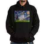English Setter / Starry Night Hoodie (dark)