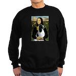 Mona Lisa/English Springer Sweatshirt (dark)