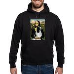 Mona Lisa/English Springer Hoodie (dark)