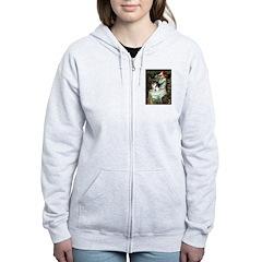 Ophelia / Fox T Women's Zip Hoodie