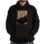 Mom's Wire Fox Terrier Hoodie (dark)