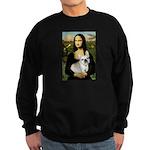 Mona / Fr Bulldog (f) Sweatshirt (dark)