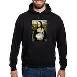 Mona / Fr Bulldog (f) Hoodie (dark)