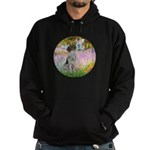 Garden/German Pointer Hoodie (dark)