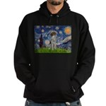 Starry Night /German Short Hoodie (dark)