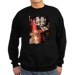 The Lady's Golden Sweatshirt (dark)