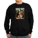 Mona's Golden Retriever Sweatshirt (dark)
