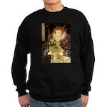 The Queen's Golden Sweatshirt (dark)