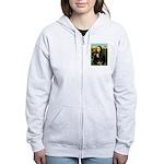 Mona / Gr Dane (bl) Women's Zip Hoodie
