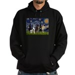 Starry / 4 Great Danes Hoodie (dark)