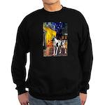 Cafe / Gr Dane (h) Sweatshirt (dark)