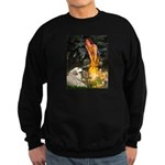 Fairies / Gr Pyrenees Sweatshirt (dark)