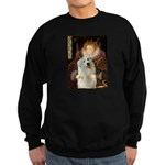 Queen / Gr Pyrenees #3 Sweatshirt (dark)