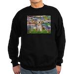 Lilies / Havanese Sweatshirt (dark)