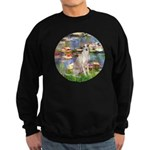 Lilies / Ital Greyhound Sweatshirt (dark)