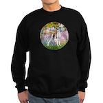 Garden / Ital Greyhound Sweatshirt (dark)