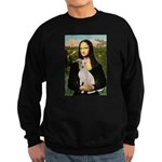 Mona Lisa / Ital Greyhound Sweatshirt (dark)