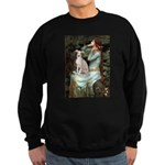 Ophelia / Italian Greyhound Sweatshirt (dark)