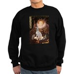 Queen / Italian Greyhound Sweatshirt (dark)