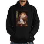 Queen / Italian Greyhound Hoodie (dark)
