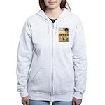 Garden Fiorito/ Spinone Women's Zip Hoodie
