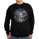 Starry Irish Wolfhound Sweatshirt (dark)