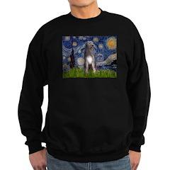Starry/Irish Wolfhound Sweatshirt (dark)