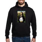 Mona Lisa/Japanese Chin Hoodie (dark)
