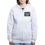 Starry / Keeshond Women's Zip Hoodie