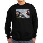 CREATION / Black Lab (#2) Sweatshirt (dark)