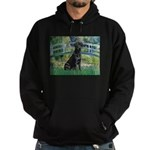 Bridge & Black Lab Hoodie (dark)