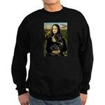 Mona's Black Lab Sweatshirt (dark)