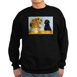 Sunflowers / Lab Sweatshirt (dark)