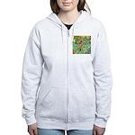Lakeland T. & Irises Women's Zip Hoodie