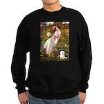 Windflowers / Maltese Sweatshirt (dark)