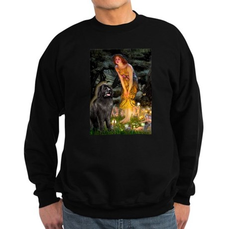 Fairies & Newfoundland Sweatshirt (dark)