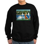 Sailboats / Nova Scotia Sweatshirt (dark)